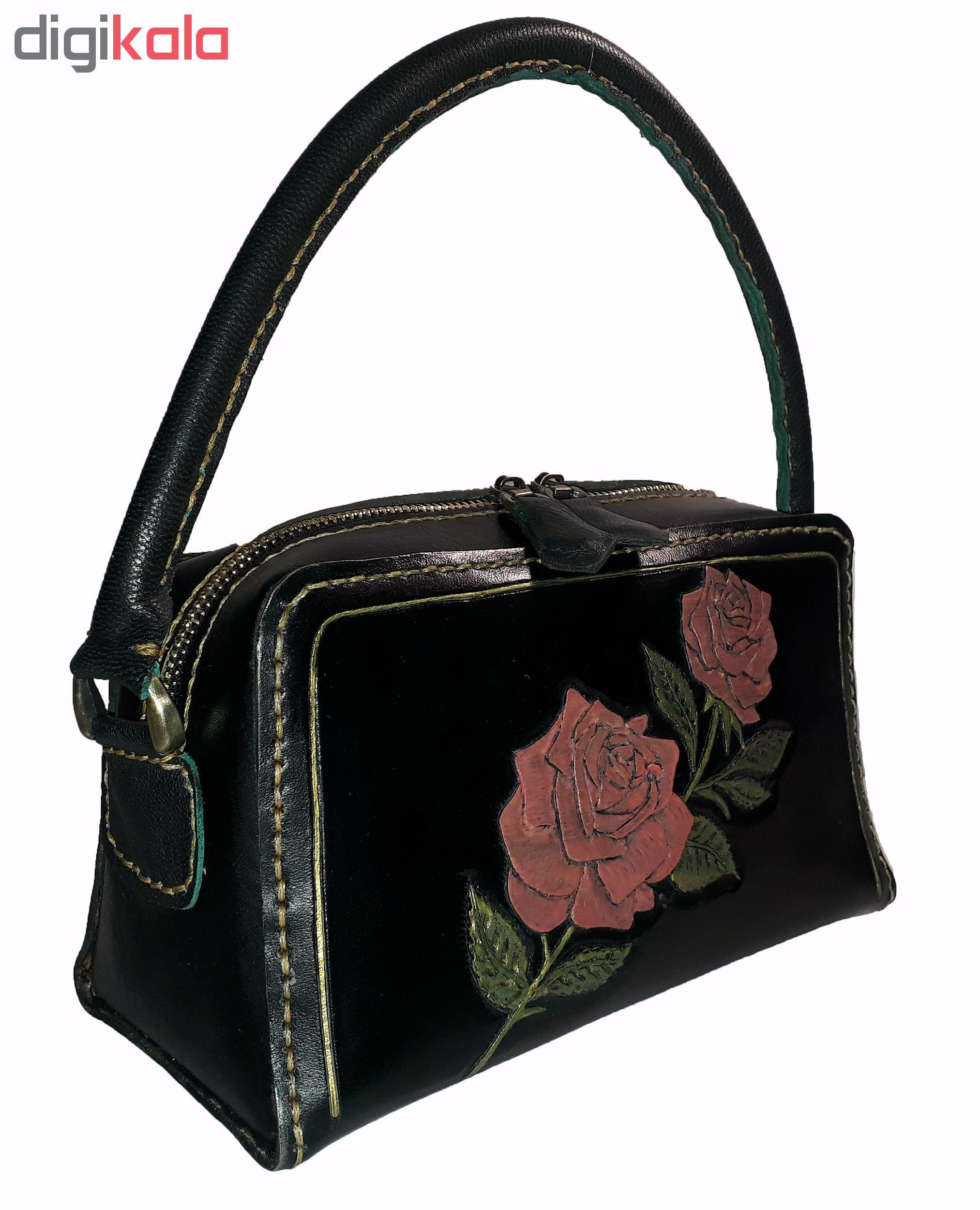 کیف دستی زنانه مدل rose