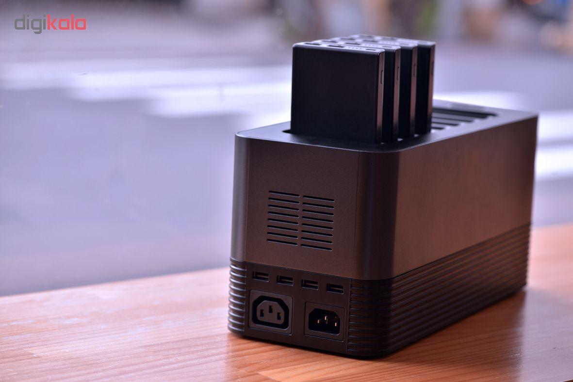 شارژر همراه انرجایزر مدل PS80000 ظرفیت 80000 میلی آمپر مجموعه 8 عددی به همراه پایه شارژ main 1 3