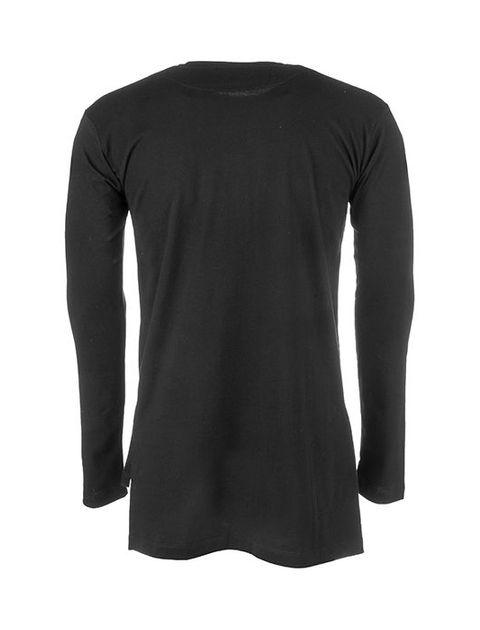 تی شرت نخی آستین بلند مردانه -  - 2