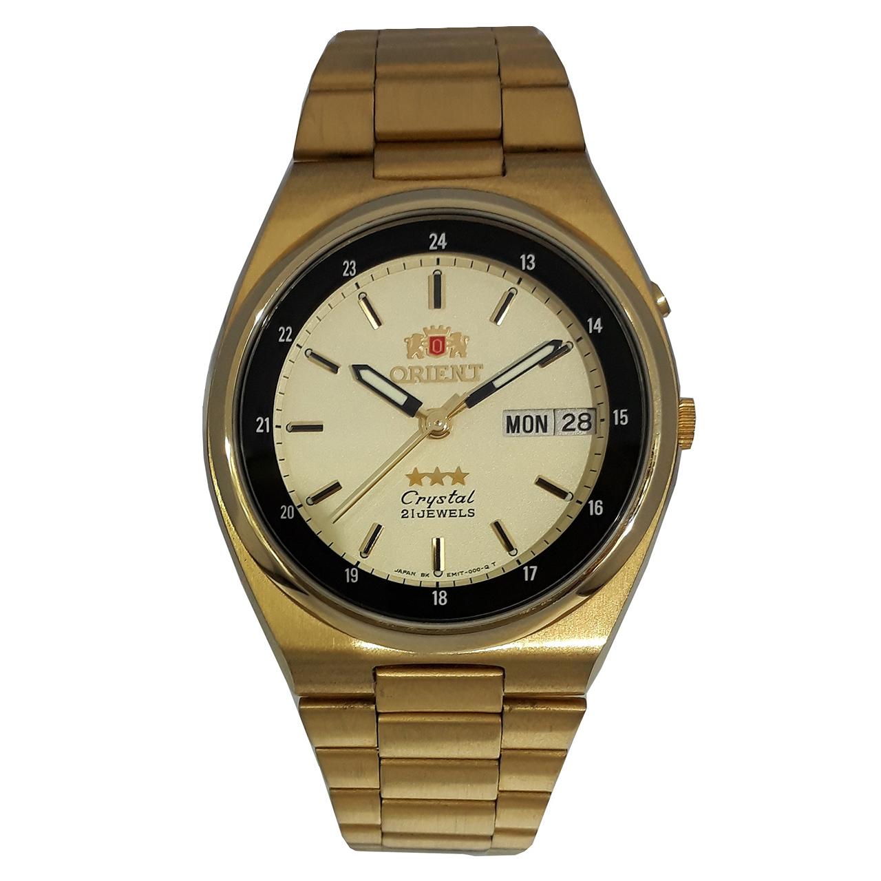 ساعت مچی عقربه ای مردانه اورینت مدل SEM1T00WGE 27