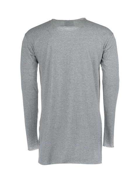 تی شرت نخی یقه گرد مردانه -  - 3