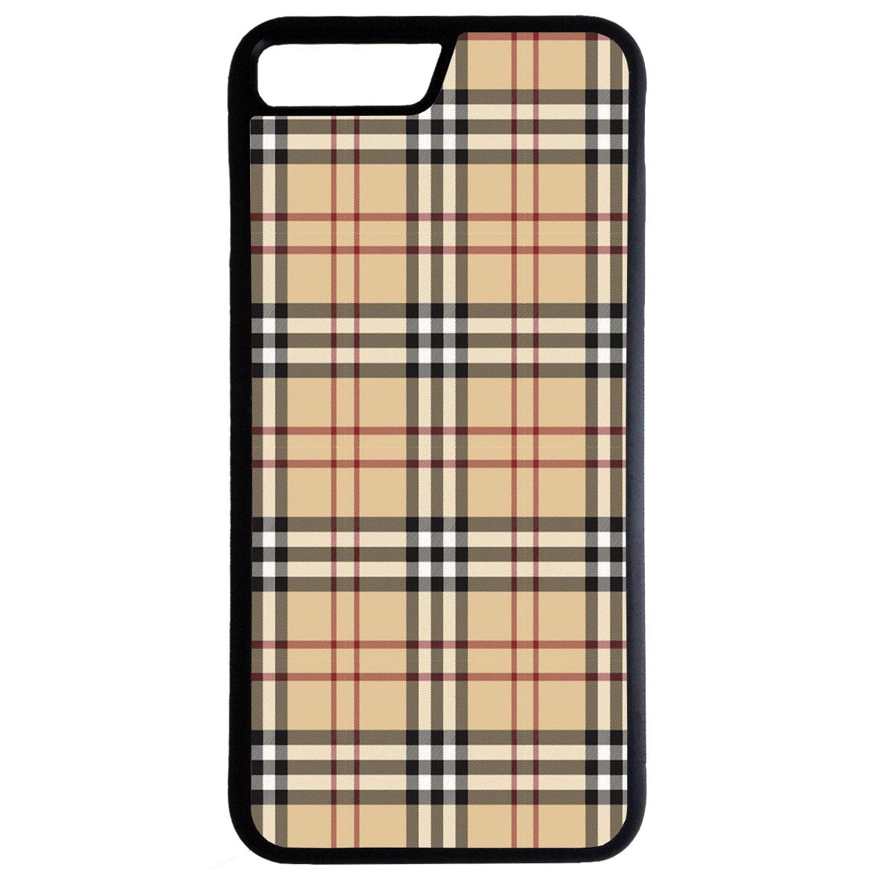 کاور طرح چهارخانه کد 7099 مناسب برای گوشی موبایل اپل iphone 7 plus/ 8 plus