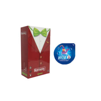 عنوان :کاندوم ناچ کدکس مدل بلیسر به همراه کاندوم هارمونی مدل SURPRISE بسته 12 عددی