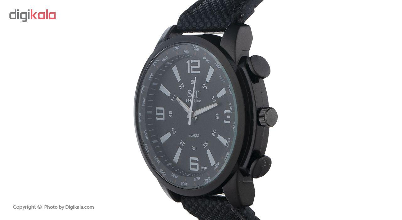 ساعت مچی عقربه ای مردانه سیک تایم مدل 26