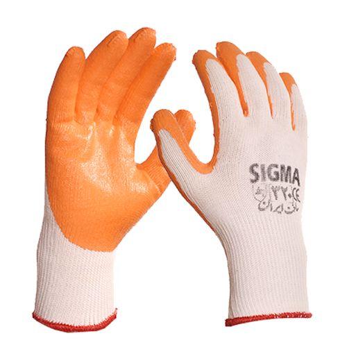 دستکش ایمنی سیگما کد 320A بسته 2 جفتی
