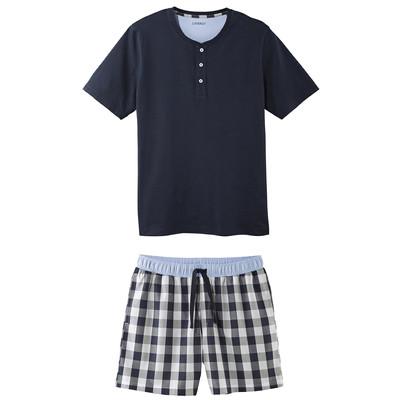 تصویر ست تی شرت و شلوارک مردانه لیورجی مدل li143