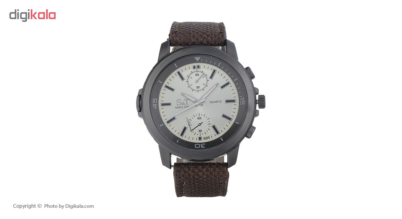 خرید ساعت مچی عقربه ای مردانه سیک تایم مدل 24