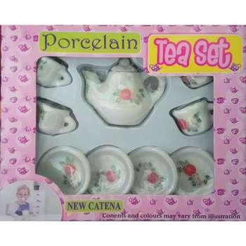 ست اسباب بازی چای خوری کودک مدل 09-flo