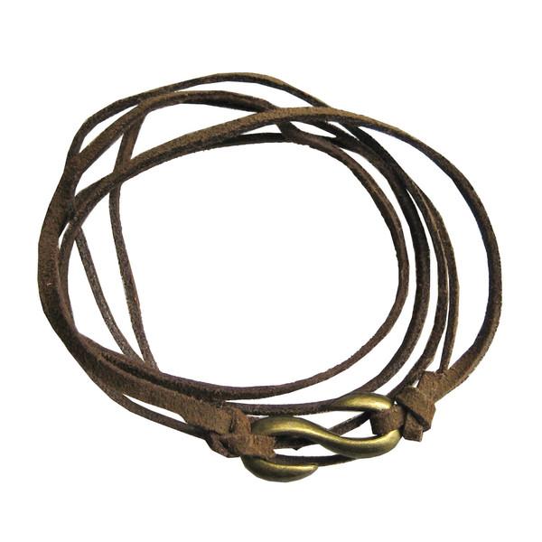 دستبند زنانه چرم دانوب مدل طوطی کد:001