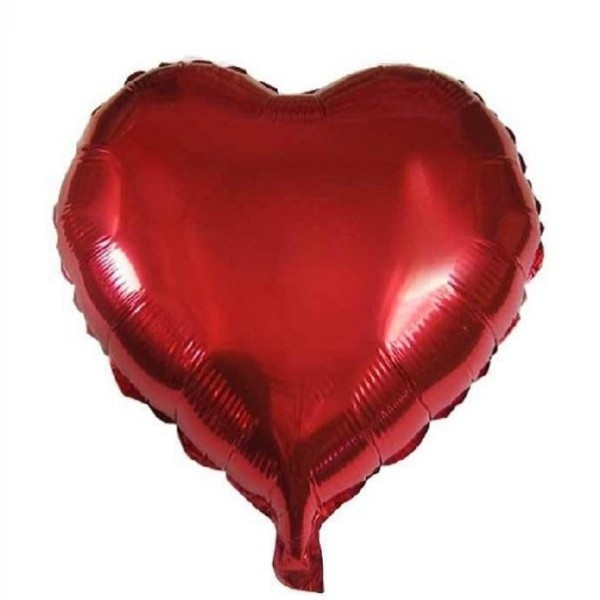 بادکنک فویلی طرح قلب مدل 044