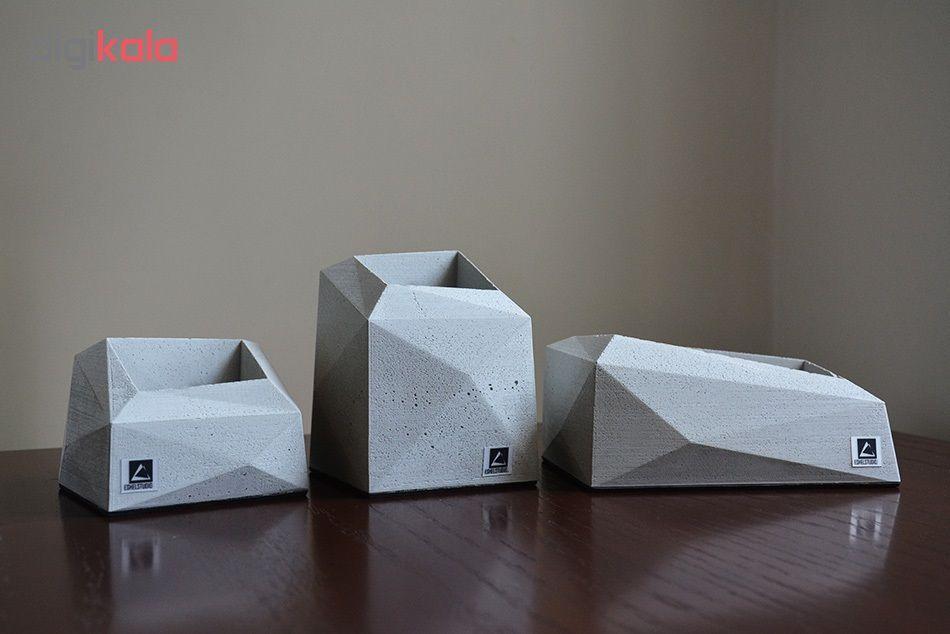 گلدان  استودیو اشل مدل E1 مجموعه 3 عددی main 1 1