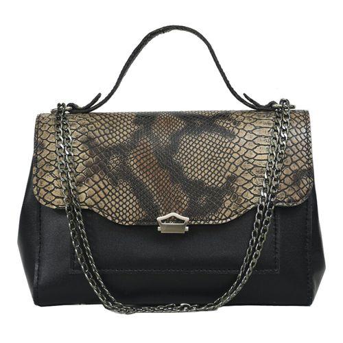 کیف دستی زنانه  چرم دستدوز مژی مدل M65-1