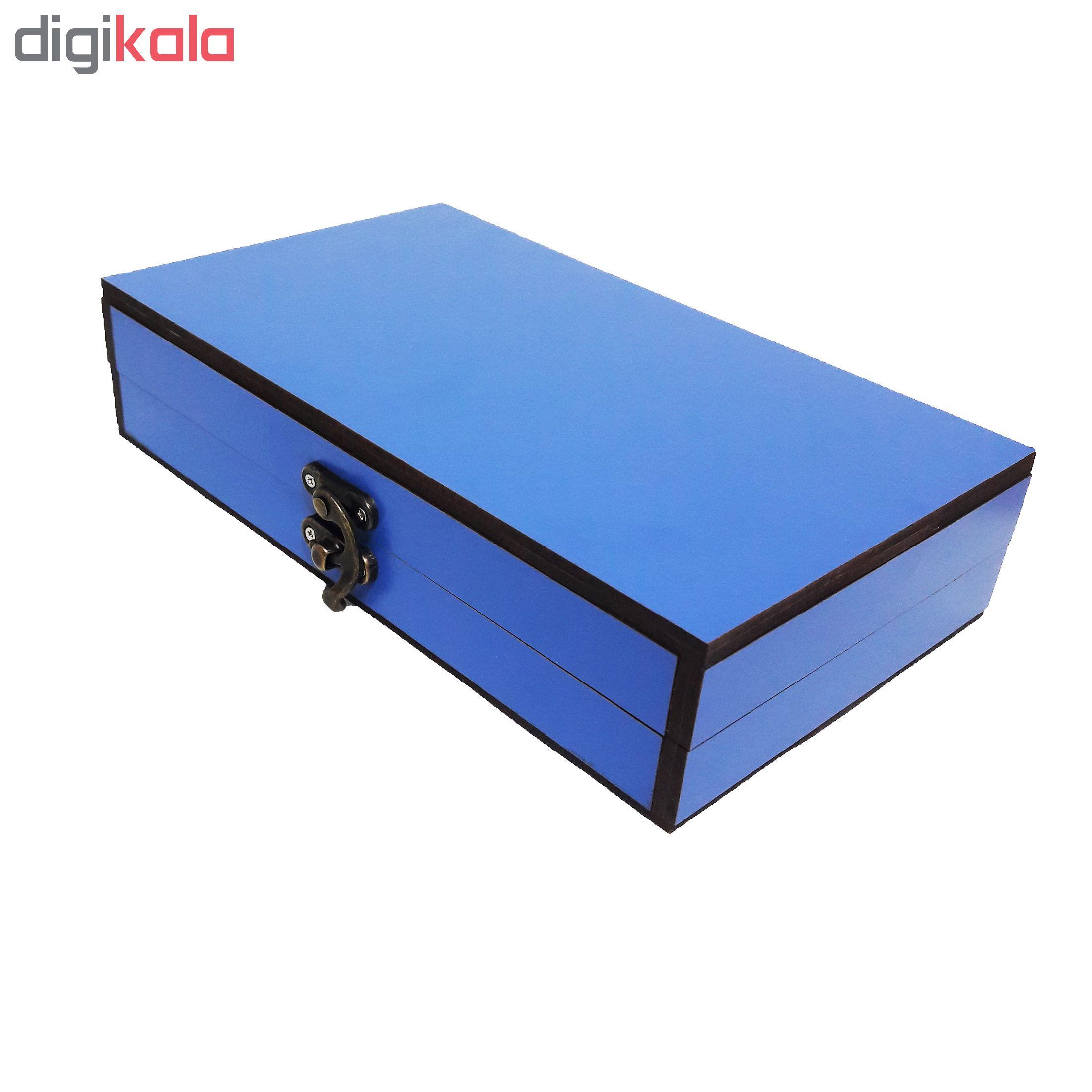 خرید                      جعبه هدیه چوبی کادو آیهان باکس مدل 34