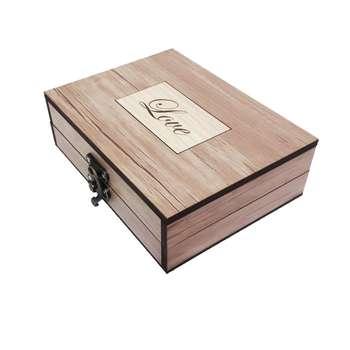جعبه هدیه چوبی آیهان باکس مدل 36