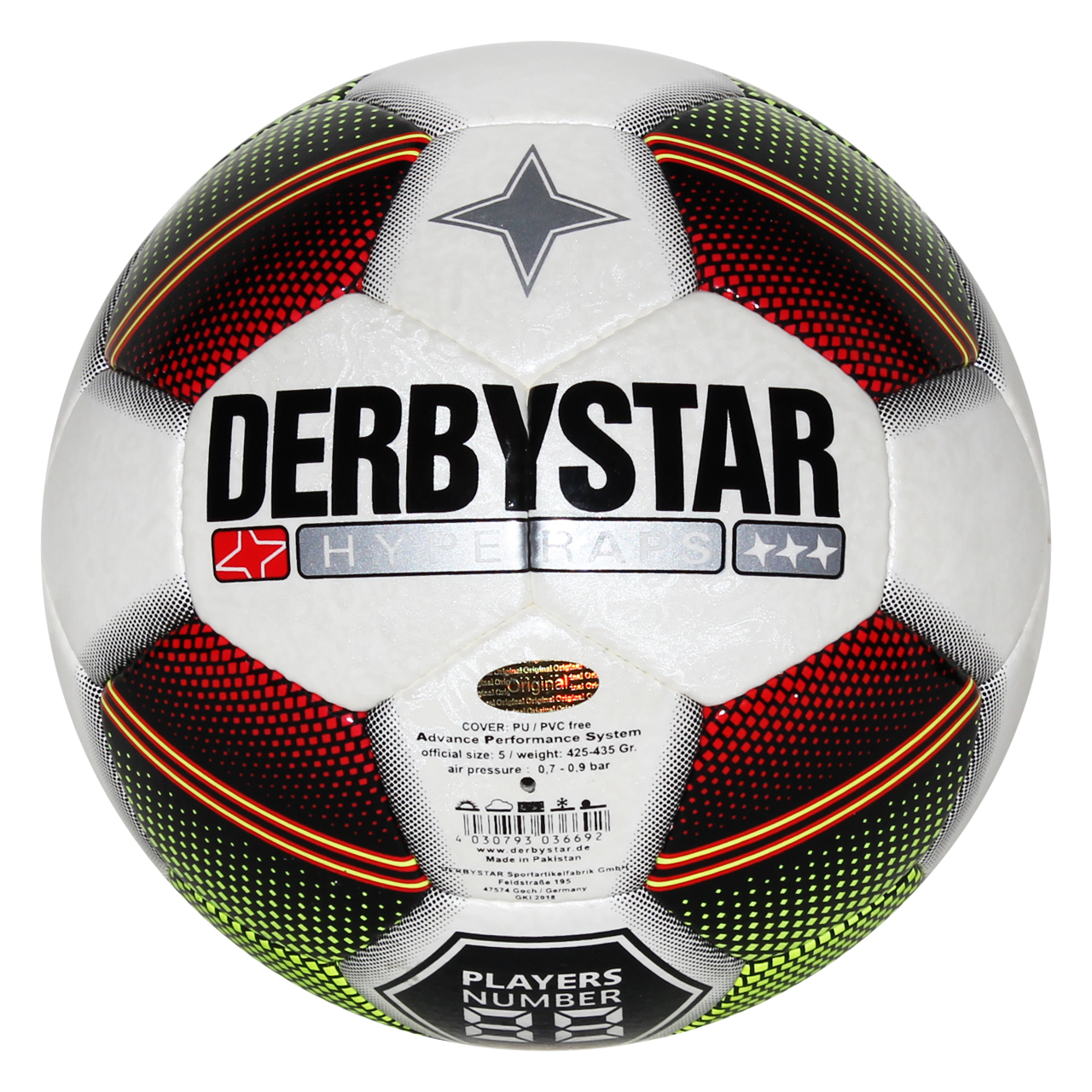 توپ فوتبال دربی استار مدل Hyper TT