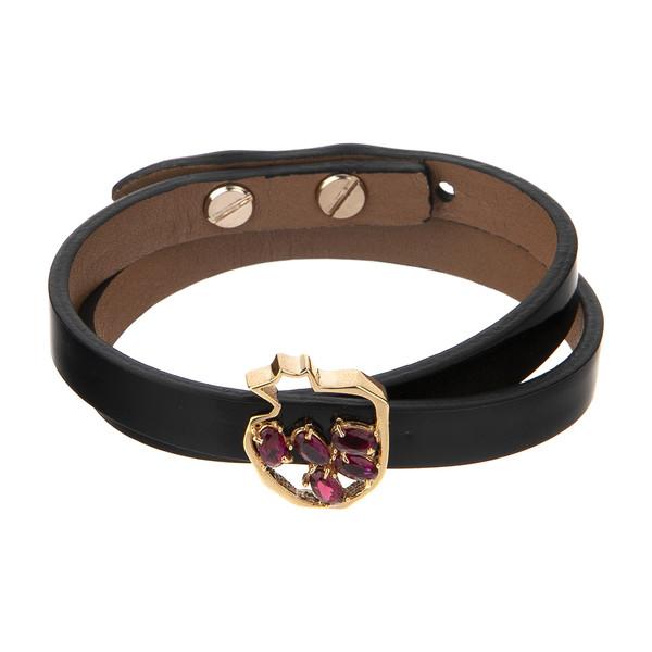 دستبند طلا 18 عیار زنانه تاج درسا مدل 533