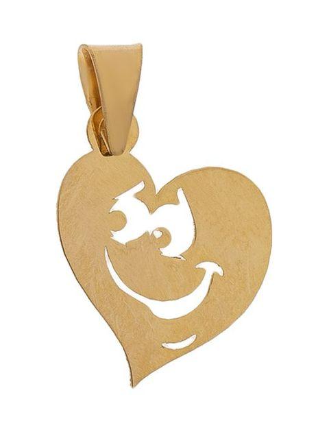 آویز گردنبند طلا 18 عیار زنانه مایا ماهک مدل MM0916 -  - 1