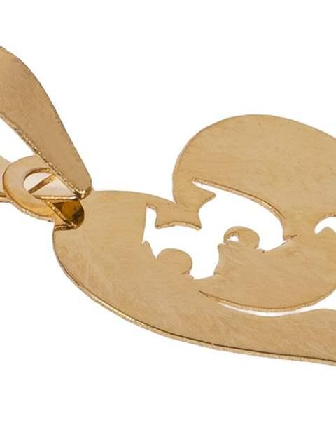 آویز گردنبند طلا 18 عیار زنانه مایا ماهک مدل MM0916 -  - 2