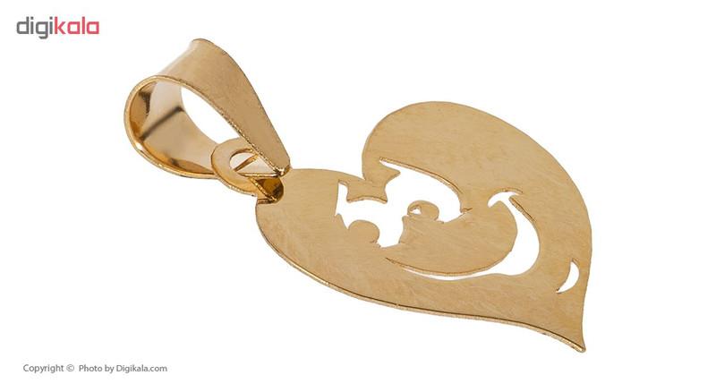 آویز گردنبند طلا 18 عیار زنانه مایا ماهک مدل MM0916