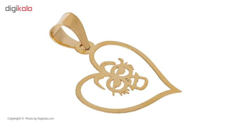 آویز گردنبند طلا 18 عیار زنانه مایا ماهک مدل MM0918