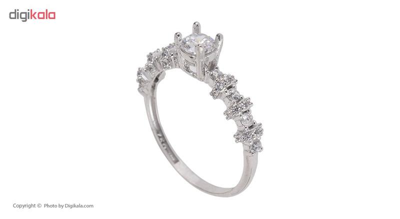 انگشتر طلا 18 عیار زنانه مایا ماهک مدل MR0298