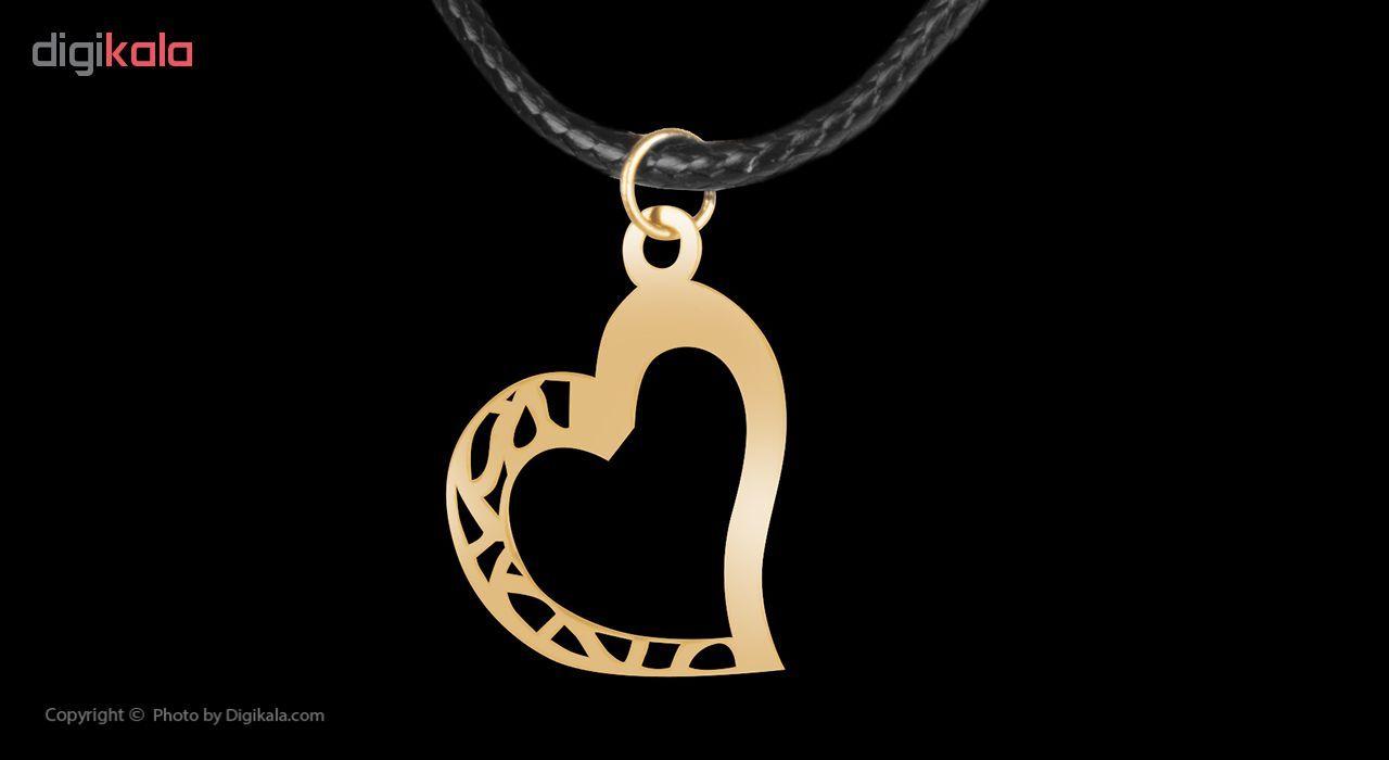 گردنبند طلا 18 عیار زنانه مایا ماهک مدل MM0904 -  - 2