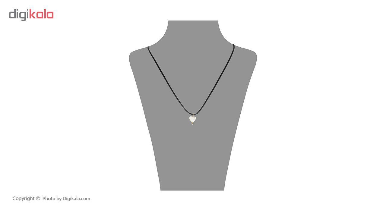 گردنبند طلا 18 عیار زنانه مایا ماهک مدل MM0888 -  - 1