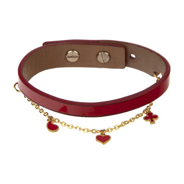 دستبند طلا 18 عیار زنانه تاج درسا مدل 564