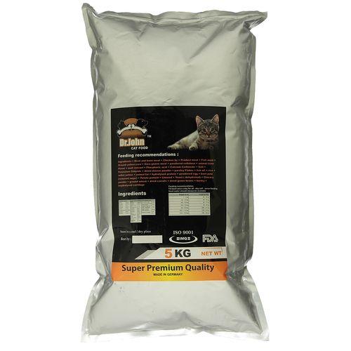 غذای خشک گربه دکتر جان مدل Super Premium مقدار 5 کیلوگرم