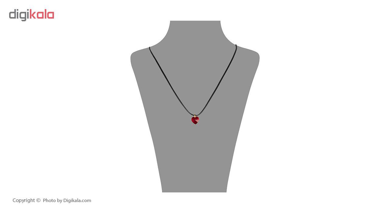 گردنبند طلا 18 عیار زنانه مایا ماهک مدل MM0896 -  - 1