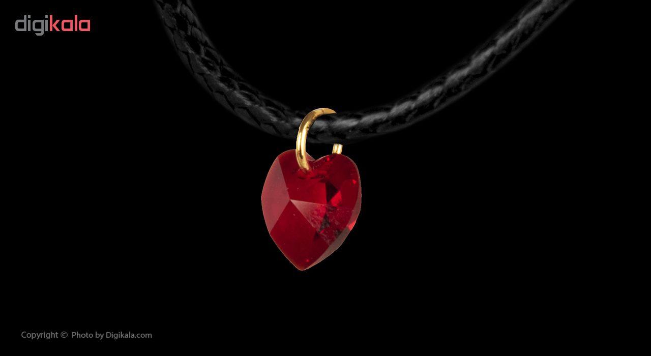 گردنبند طلا 18 عیار زنانه مایا ماهک مدل MM0896 -  - 2