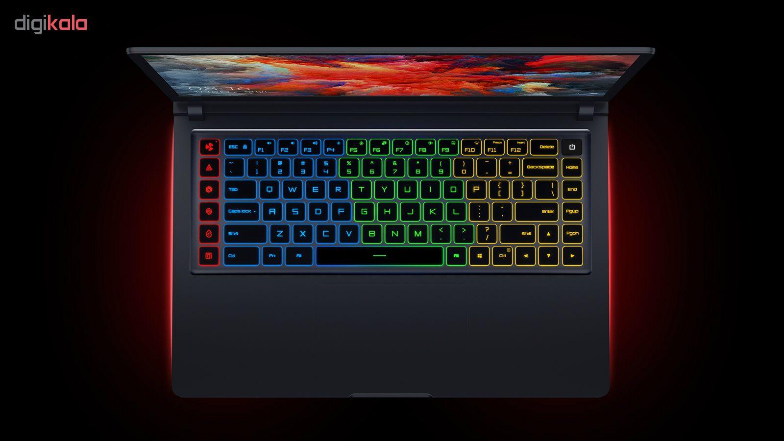 لپ تاپ 15.6 اینچی شیائومی مدل Mi Gaming G57714D6D - V