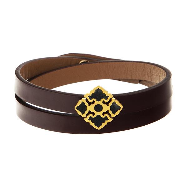 دستبند طلا 18 عیار زنانه تاج درسا مدل 266