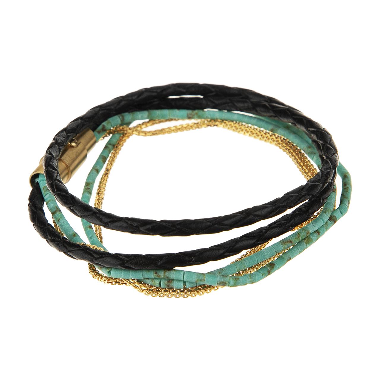 قیمت دستبند طلا 18 عیار زنانه تاج درسا مدل 275