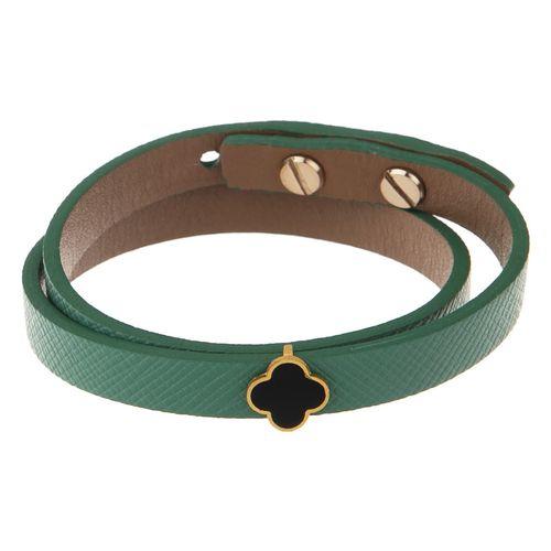 دستبند طلا 18 عیار زنانه تاج درسا مدل 542