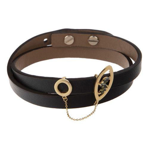 دستبند طلا 18 عیار زنانه تاج درسا مدل 573