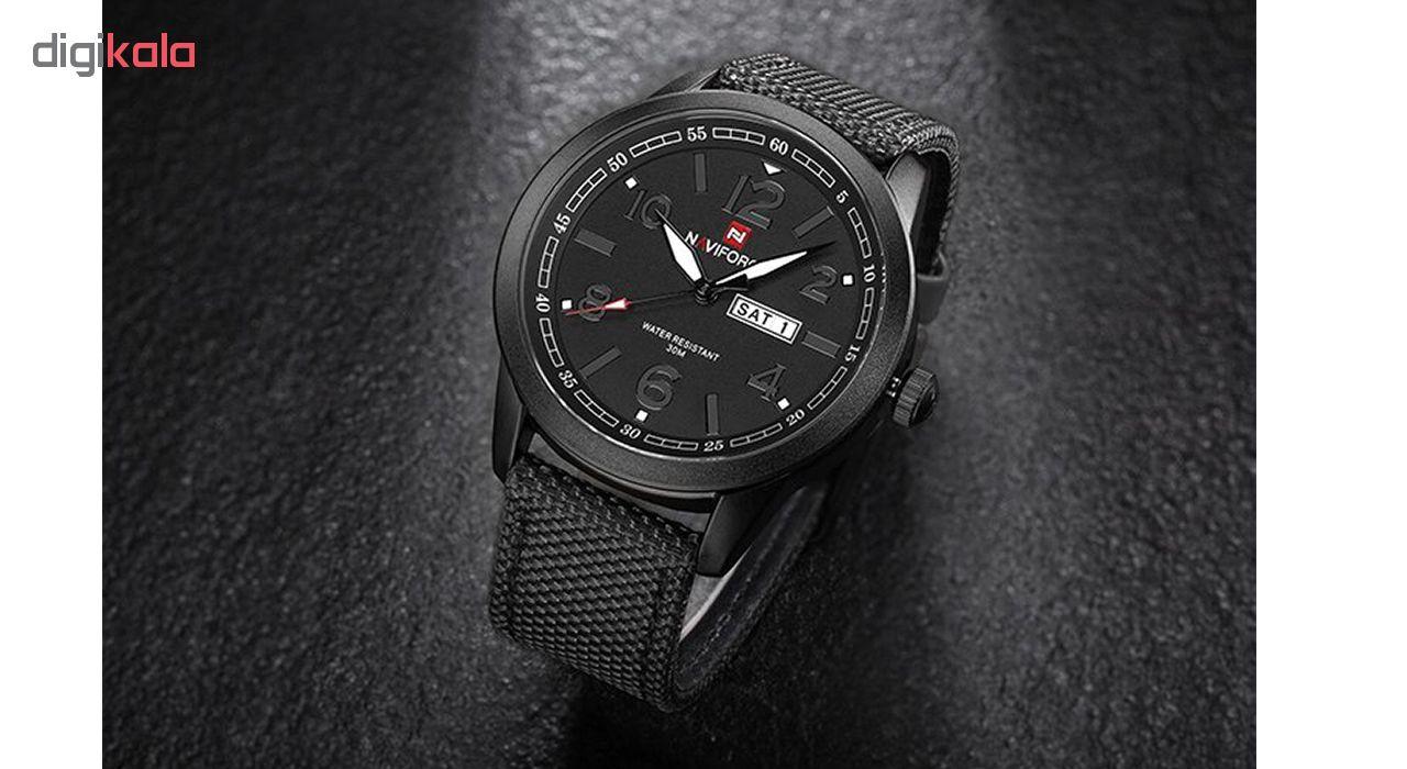 کد تخفیف                                      ساعت مچی عقربه ای مردانه نیوی فورس مدل NF9101 BGYB