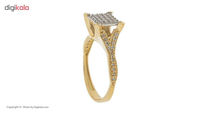انگشتر طلا 18 عیار زنانه مایا ماهک مدل MR0307