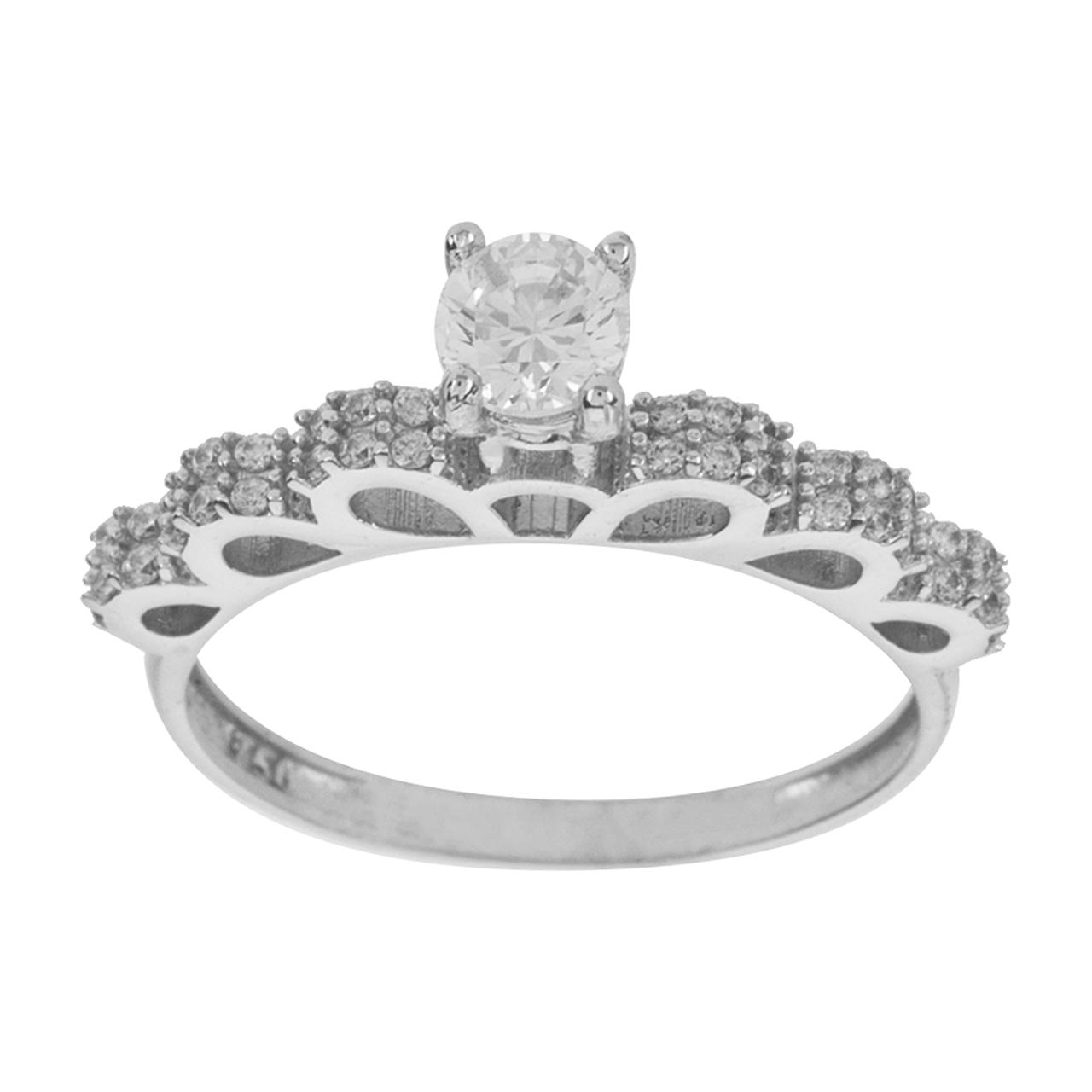 قیمت انگشتر طلا 18 عیار زنانه مایا ماهک مدل MR0304