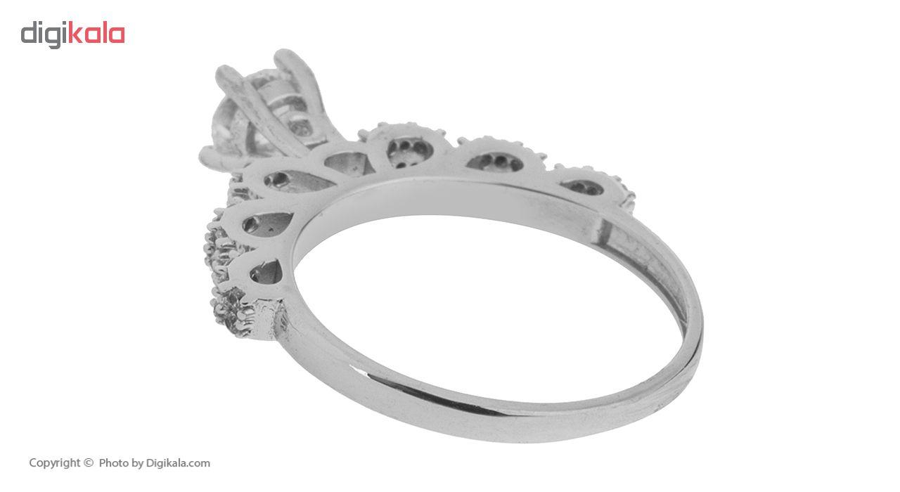 انگشتر طلا 18 عیار زنانه مایا ماهک مدل MR0304