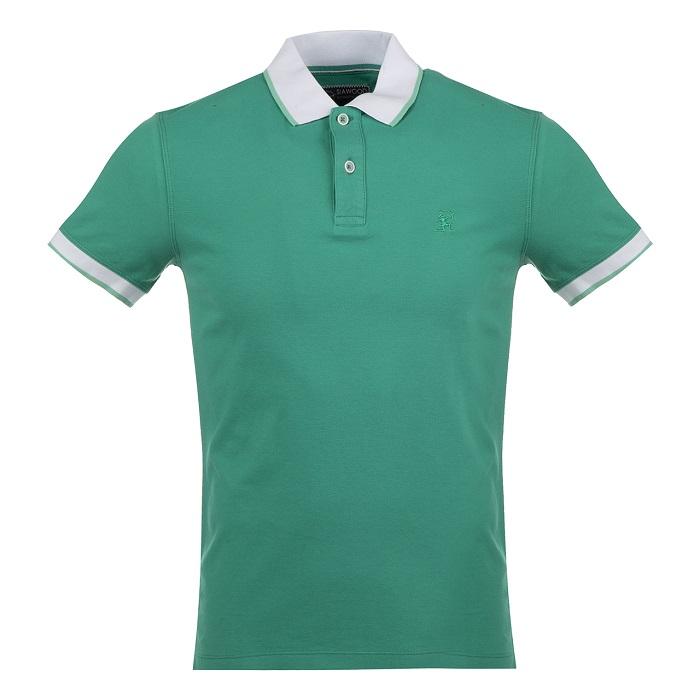 تی شرت مردانه سیاوود مدل POLO-62811-62811 کد G0206 رنگ سبز