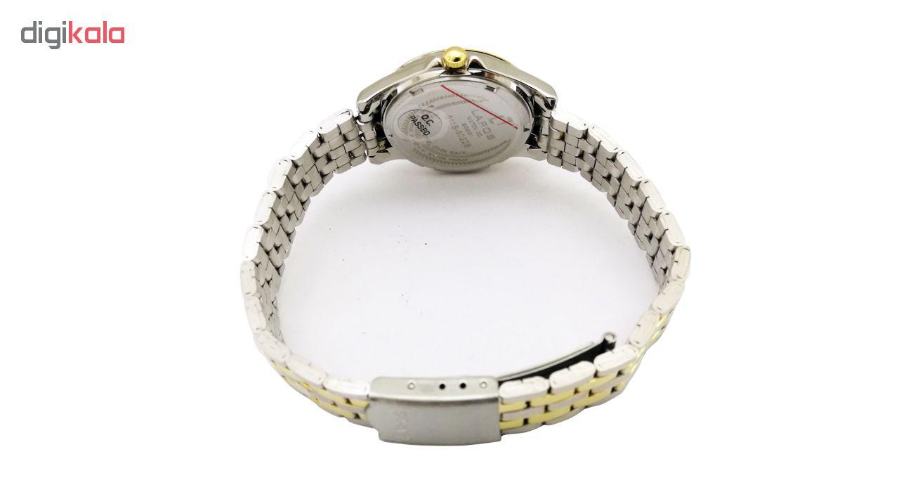 ساعت زنانه برند لاروس مدل  0118-80227 به همراه دستمال مخصوص برند کلین واچ