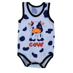 زیر دکمه دار نوزادی مدل cow