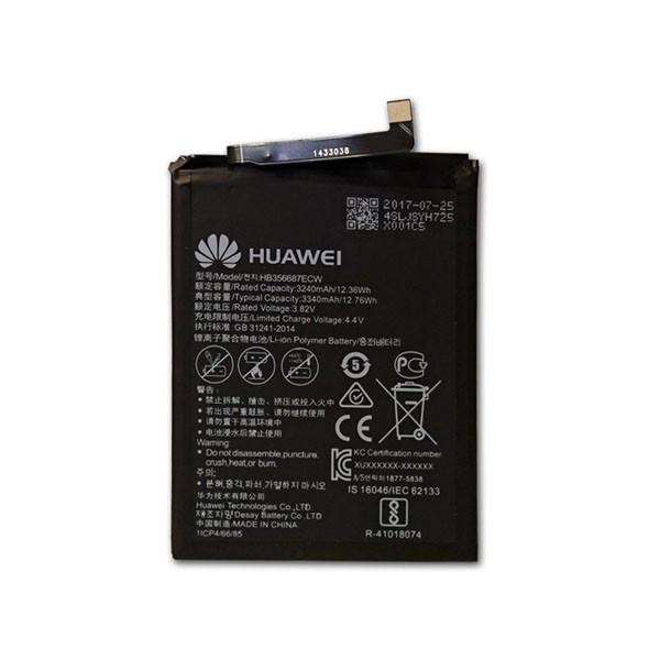 باتری مدل Hb356687ecw ظرفیت 3340 میلی آمپر  ساعت مناسب برای گوشی هوآوی nova 2 plus