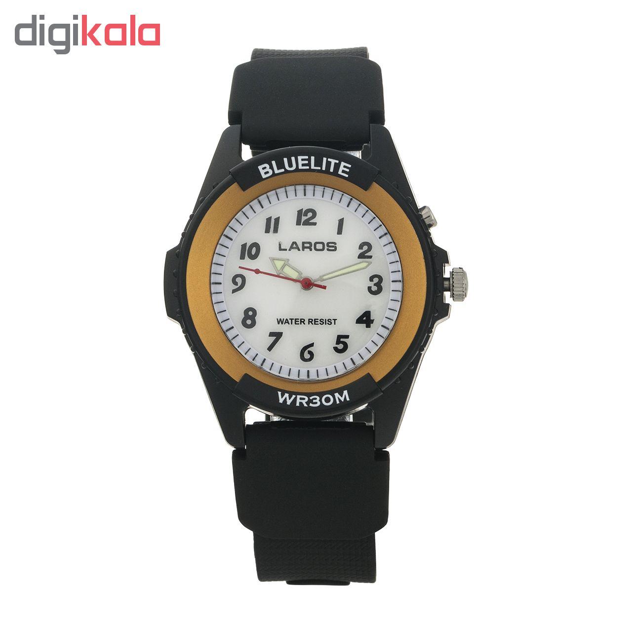خرید ساعت مچی عقربه ای مردانه لاروس مدل 0417AQ53