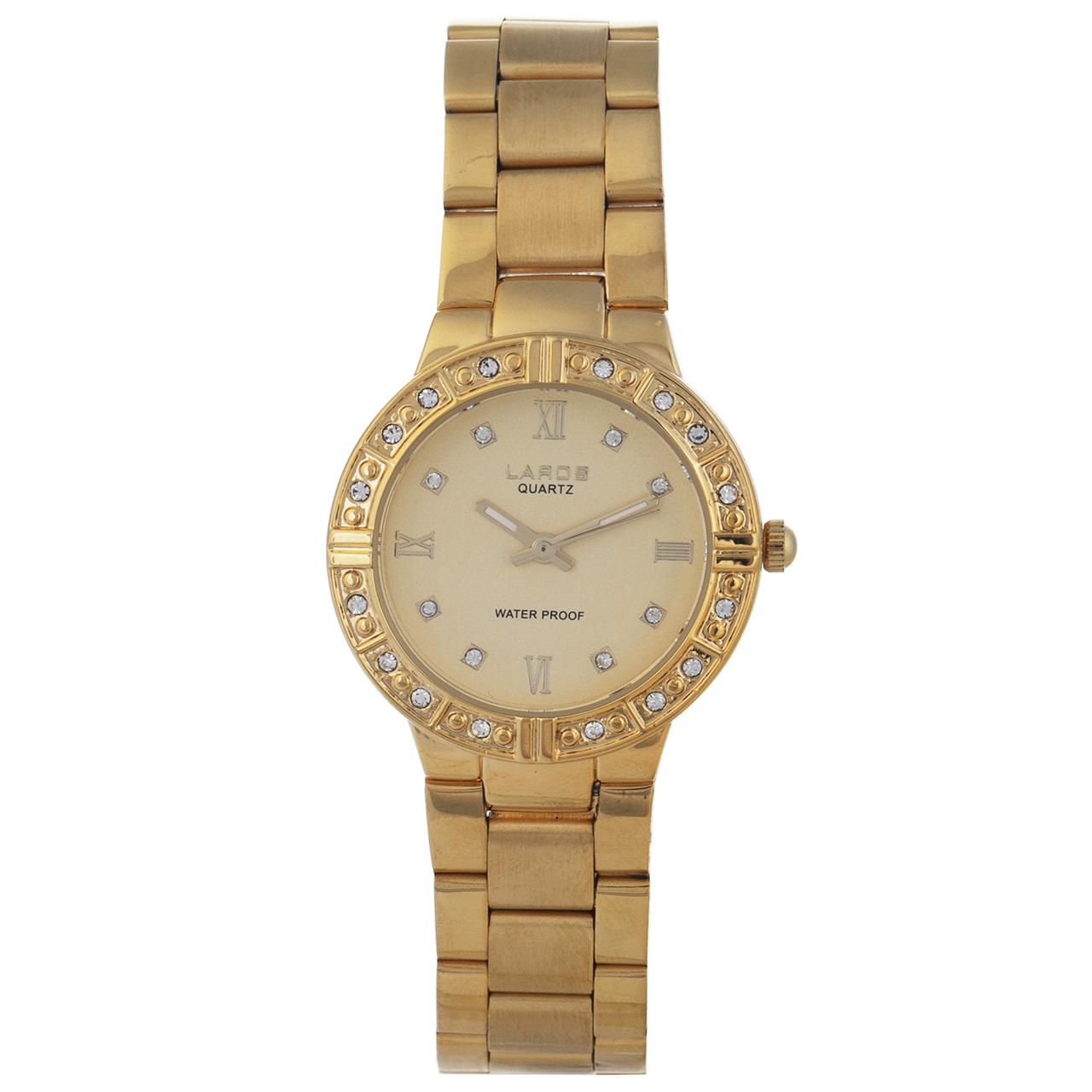 خرید ساعت مچی عقربه ای زنانه لاروس مدل 041779810