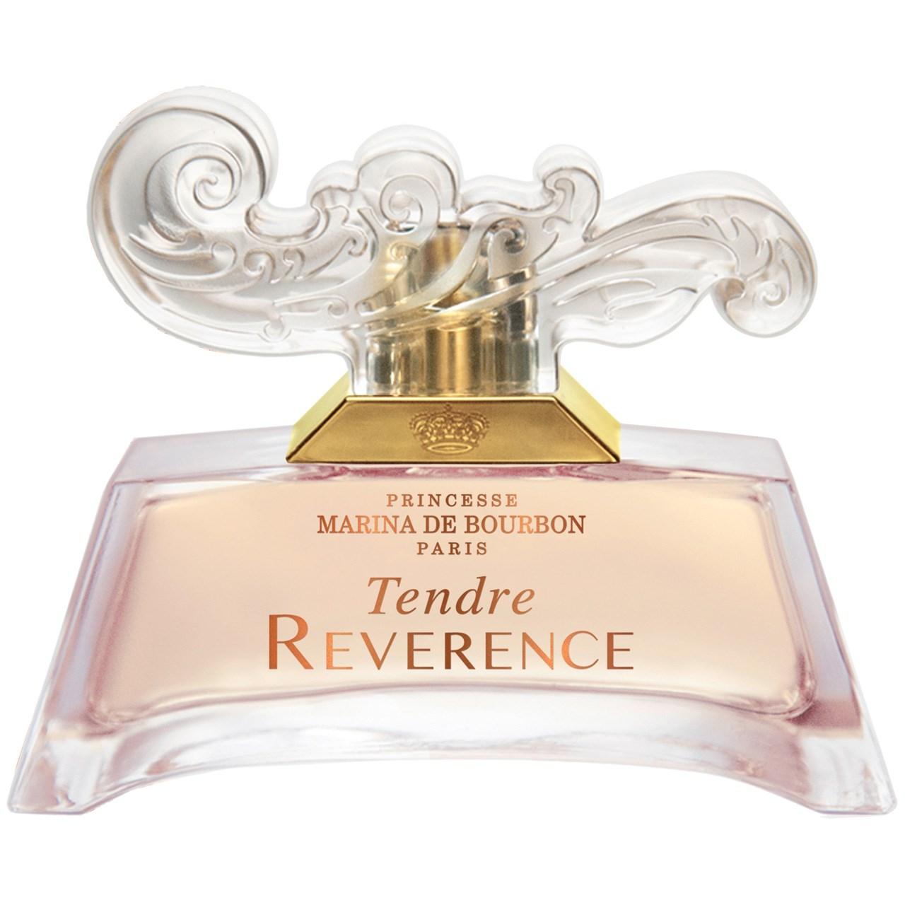 عکس ادو پرفیوم زنانه پرنسس مارینا دو بوربون مدل Tendre Reverence حجم 100 میلی لیتر