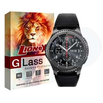 محافظ صفحه نمایش لایونکس مدل UPS مناسب برای ساعت سامسونگ Galaxy Watch 42mm