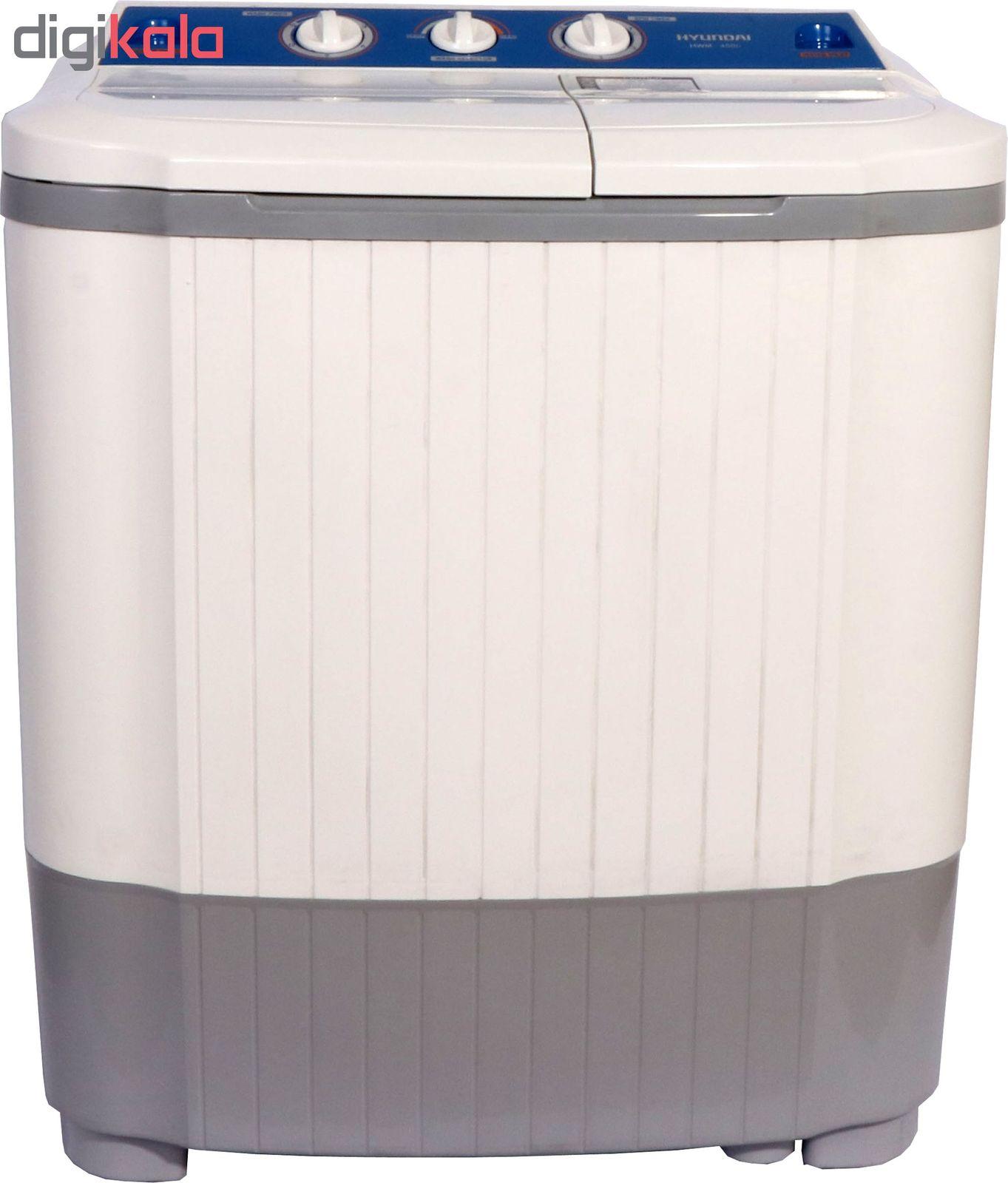 ماشین لباسشویی هیوندای مدل HWM-4500 ظرفیت 4.5 کیلوگرم main 1 5
