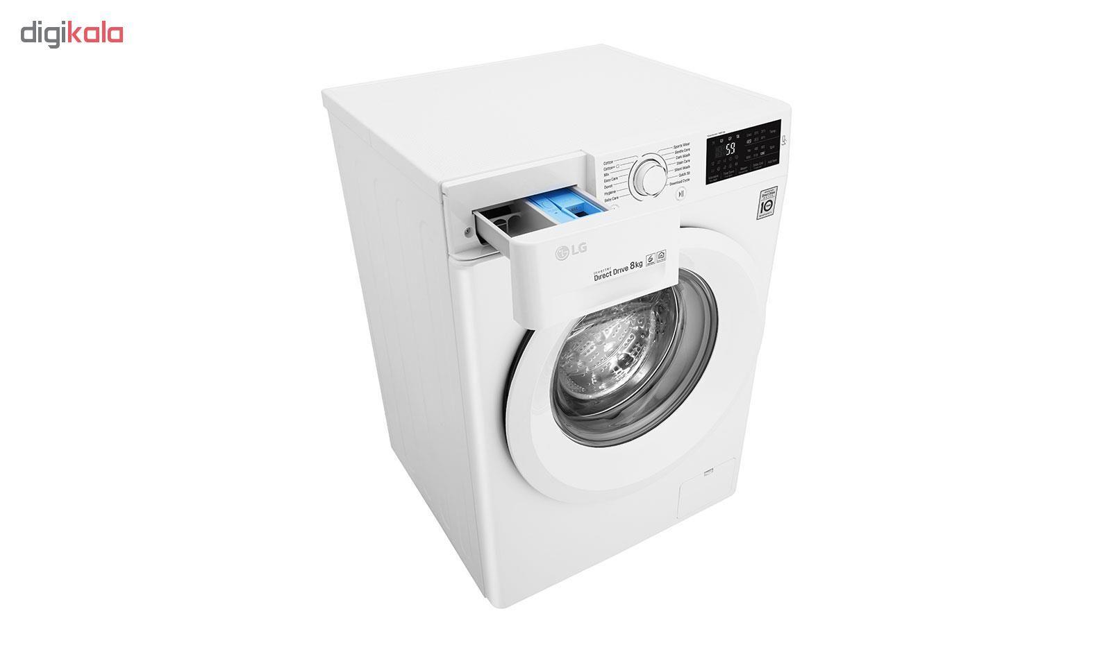 ماشین لباسشویی ال جی مدل WM-821NW ظرفیت 8 کیلوگرم main 1 4